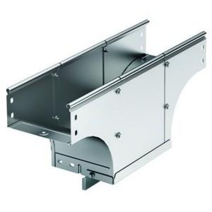 Ответвитель TDS Т-образный вертикальный основание 600 H80 в комплекте с крепежными элементами
