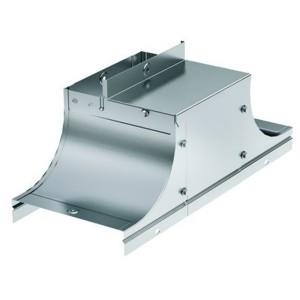 Крышка-ответвитель TSS основание 150 H100 в комплекте с крепежными элементами и пластинами