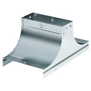 Крышка-ответвитель TS основание 150 H100 в комплекте с крепежными элементами и пластинами