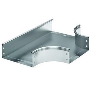 Ответвитель DPT T-образный горизонтальный 300х100 в комплекте с крепежными элементами и пластинами