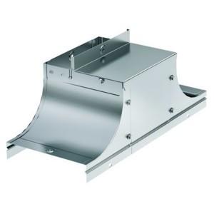 Крышка-ответвитель TSS основание 300 H100 в комплекте с крепежными элементами и пластинами