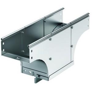 Ответвитель TDS T-образный вертикальный основание 400 H100 в комплекте с крепежными элементами