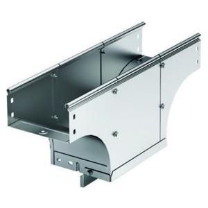 Ответвитель TDS T-образный вертикальный основание 500 H100 в комплекте с крепежными элементами