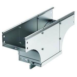 Ответвитель TDS T-образный вертикальный основание 600 H100 в комплекте с крепежными элементами