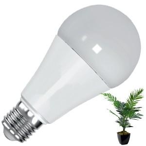 Светодиодная лампа для растений FL-LED A80 12W PLANTS RED E27 220V 80x135mm