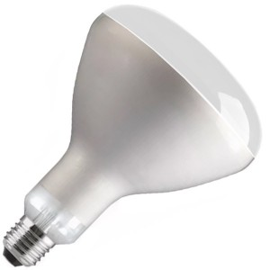 Лампа инфракрасная FL-IR R125 375W CLEAR E27 230V прозрачное стекло