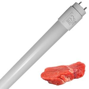 Лампа светодиодная для мясных продуктов FL-LED T8 26W MEAT G13 220V L1500mm