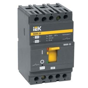 Автоматический выключатель ВА88-32  3Р  63А  25кА  ИЭК (автомат)