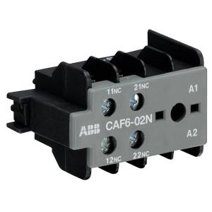 Дополнительный контакт АВВ CAF6-02N фронтальный для миниконтакторов B6, B7