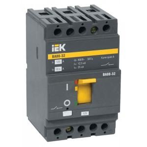 Автоматический выключатель ВА88-32  3Р  80А  25кА  ИЭК (автомат)