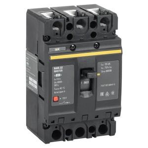 Автоматический выключатель ВА88-32 Master  3Р  63А  25кА ИЭК (автомат)