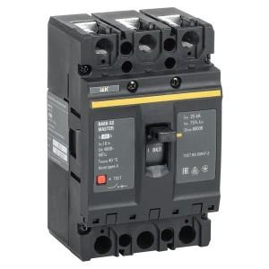 Автоматический выключатель ВА88-32 Master  3Р  80А  25кА ИЭК (автомат)