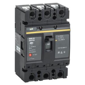 Автоматический выключатель ВА88-35 Master  3Р  100А  35кА ИЭК (автомат)