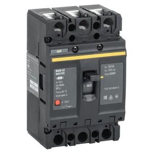 Автоматический выключатель ВА88-35 Master  3Р  125А  35кА ИЭК (автомат)