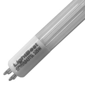 Амальгамная лампа LightBest GPHVA 843T5L/4 105W 1,2A L843mm