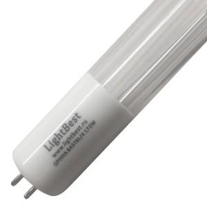 Амальгамная лампа LightBest GPHVA 843T6L/4 127W 1,8A L843mm