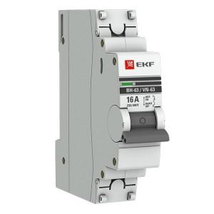 Выключатель нагрузки 1P  16А ВН-63 EKF PROxima