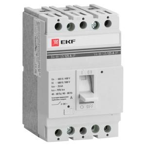 Выключатель автоматический ВА-99  125/ 40А 3P 25кА EKF PROxima