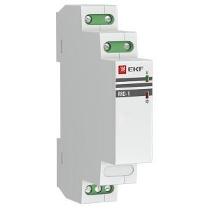Импульсное реле RIO-1 10А 1НО/НЗ 230В 50Гц EKF PROxima