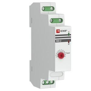 Импульсное реле с задержкой RIO-2 10А 1НО/НЗ 230В 50Гц EKF PROxima