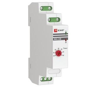 Импульсное реле с задержкой отключения RIO-2-60 (30-60 мин) 16А 1НО/НЗ 230-240В 50Гц EKF PROxima
