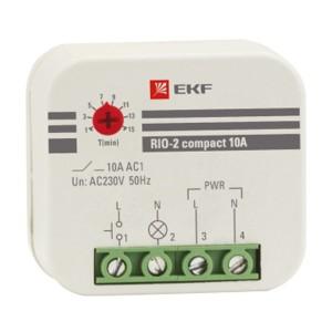 Импульсное реле с задержкой RIO-2 compact 10А 1НО 230В 50Гц EKF PROxima