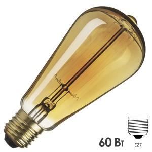 Лампа Navigator 71 957 NI-V-ST64-SC17-60-230-E27-CLG