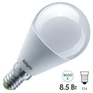 Лампа Navigator 61 334 NLL-G45-8.5-230-4K-E14