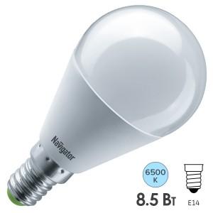 Лампа Navigator 61 335 NLL-G45-8.5-230-6.5K-E14