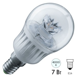 Лампа Navigator 61 594 NLL-G45-7-230-4K-E14-CL