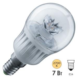 Лампа Navigator 71 856 NLL-G45-7-230-2.7K-E14-CL