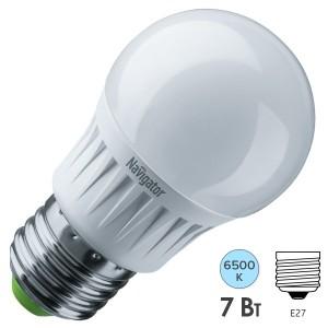 Лампа Navigator 61 245 NLL-G45-7-230-6.5K-E27