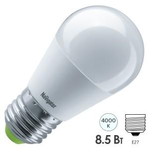 Лампа Navigator 61 337 NLL-G45-8.5-230-4K-E27