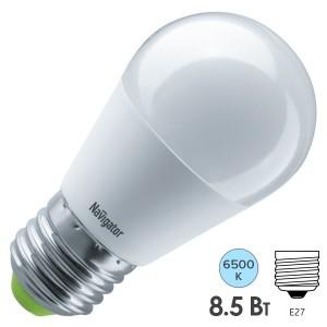 Лампа Navigator 61 338 NLL-G45-8.5-230-6.5K-E27