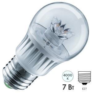 Лампа Navigator 61 593 NLL-G45-7-230-4K-E27-CL