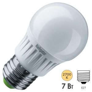 Лампа Navigator 94 467 NLL-G45-7-230-2.7K-E27