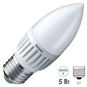 Лампа Navigator 94 483 NLL-P-C37-5-230-4K-E27-FR