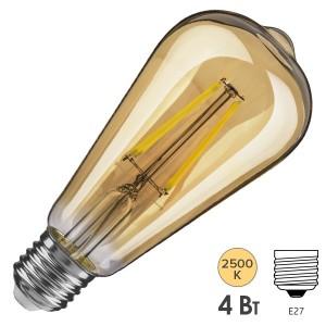 Лампа Navigator 61 485 NLL-F-ST64-4-230-2.5К-E27