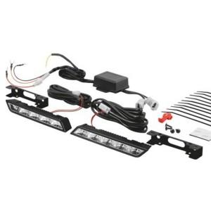 ДХО OSRAM 5 LED  LEDDRL301 CL15 12V 15W LEDRIVING 2 (подключение к замку зажигания) (1 комплект)