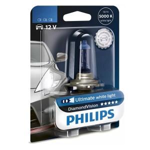 Лампа 12258DVB1 H1 12V 55W (P14,5s) (белый холод.свет-голуб.оттен.) (блистер 1шт.) Diamond Vision