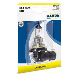 Лампа 48006B1 HB4 12V 55W P22d (блистер 1шт.) NARVA