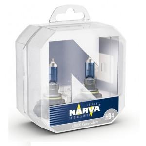 Лампа 48626S2 HB4 12V 60W P22d (белый свет) (упаковка 2шт) RPW NARVA