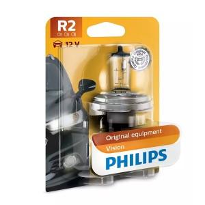 Лампа 12475B1 HR2 12V 45/40W P45t (блистер 1шт.) Visio PHILIPS