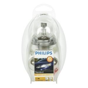 Набор автоламп 55476EKKM HR2 12V 45/40W P45t Easy Kit PHILIPS