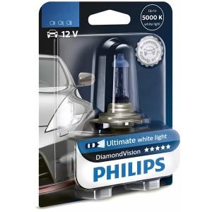Лампа 12342DVB1 H4 12V 60/55W P43t (белый холод.свет-голуб.оттен.) (блистер 1шт.) Diamond Vision