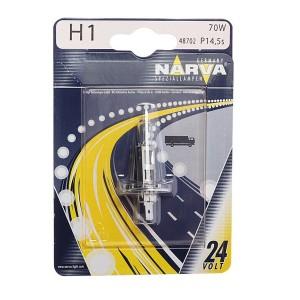 Лампа 48702B1 H1 24V 70W P14,5s (блистер 1шт.) NARVA