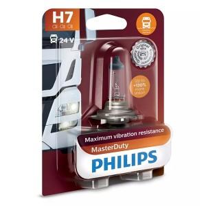 Лампа 13972MDB1 H7 24V 70W PX26d (вибростойкая) (блистер 1шт.) MasterDuty PHILIPS