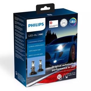 Лампа светодиодная 11342XUWX2 H4 12V-LED P43t 5800K 22/22W X-tremeUltinon gen2 Bright White (уп.2шт)