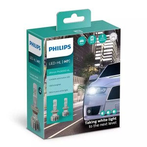 Лампа светодиодная 11972U50CWX2 H7 12/24V-LED PX26d 5800K 15W (уп. 2шт.) Ultinon Pro5000 HL PHILIPS