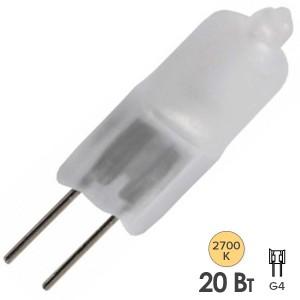 Лампа галогенная HC FR 20W 12V G4 матовая